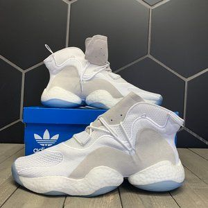 New W/ Box! Adidas Crazy BYW Cloud White